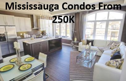 Mississauga Condos From 250K